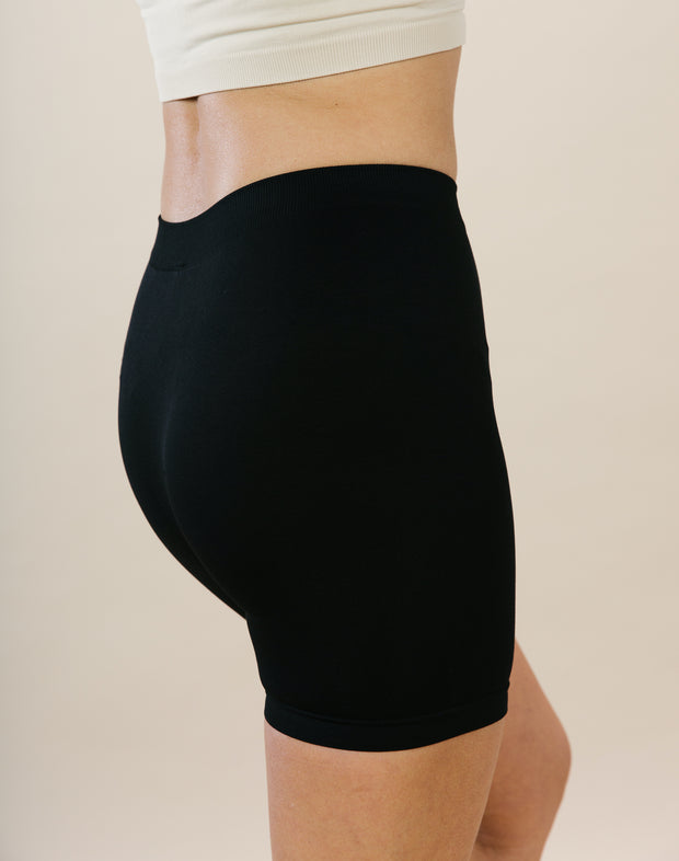 Stretch Boy Shorts - Black