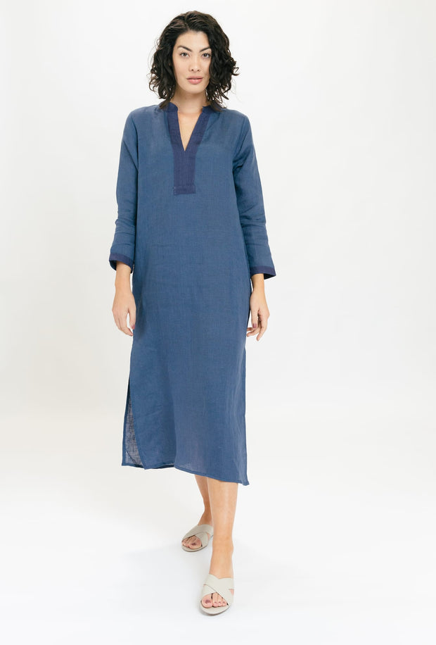 Tullia Linen Maxi Dress