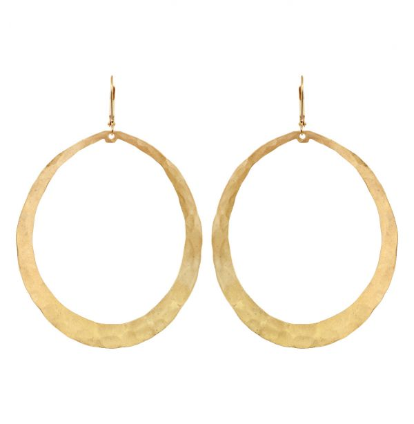 Unruly Oval Earrings