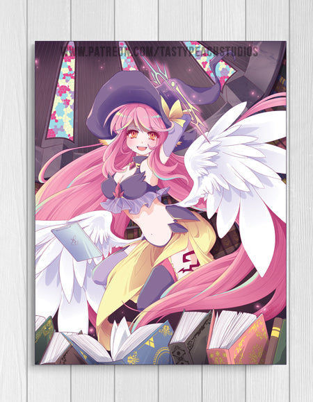 Jibril Angelic Witchy Print