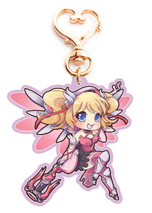 Pink Mercy Key-chain