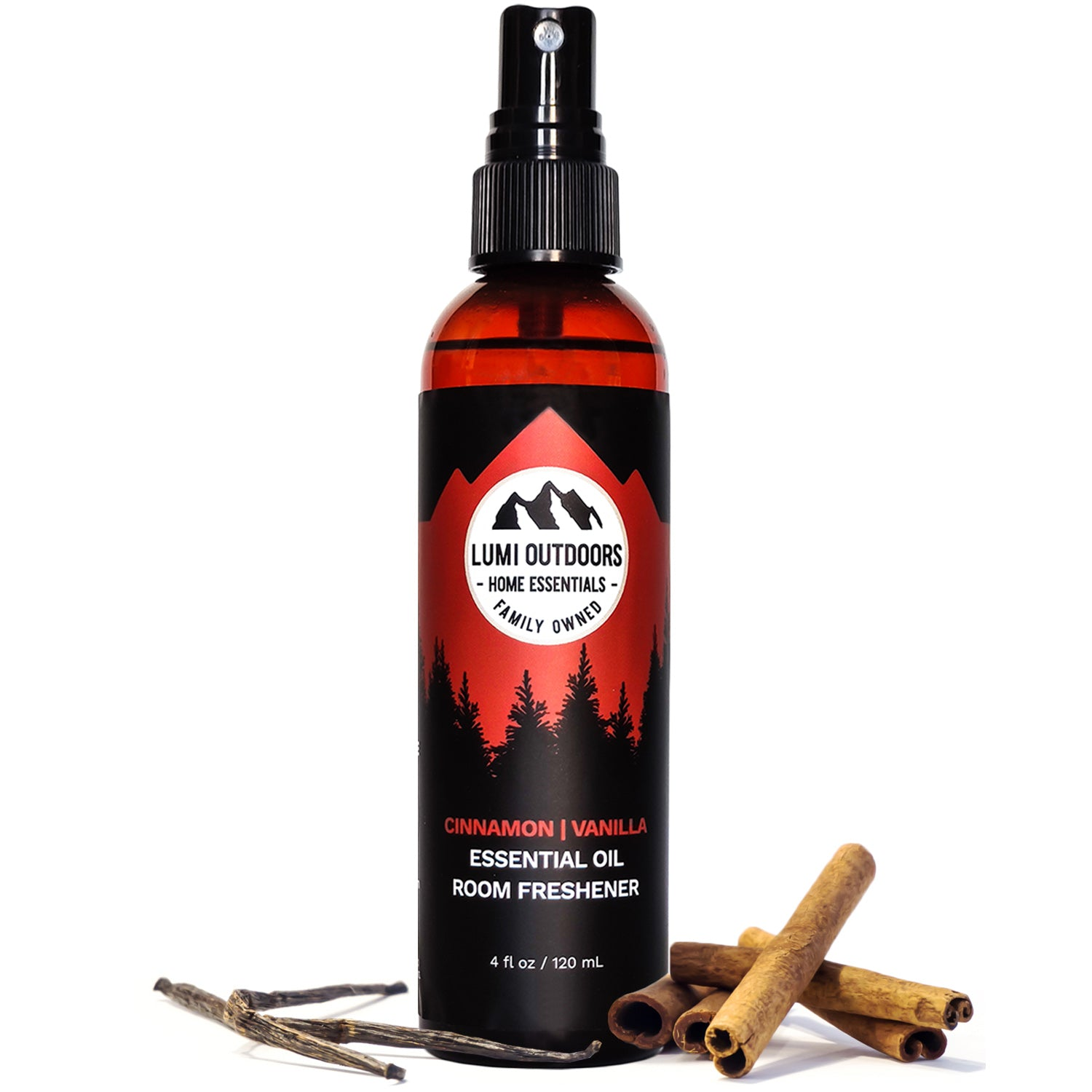 Natural Cinnamon Vanilla Room Spray
