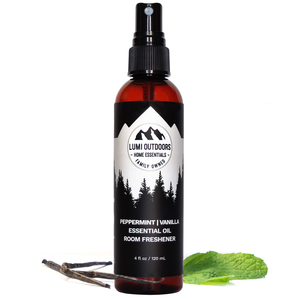 Natural Peppermint Vanilla Room Spray