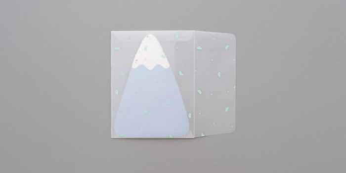 Mountain Confetti Card