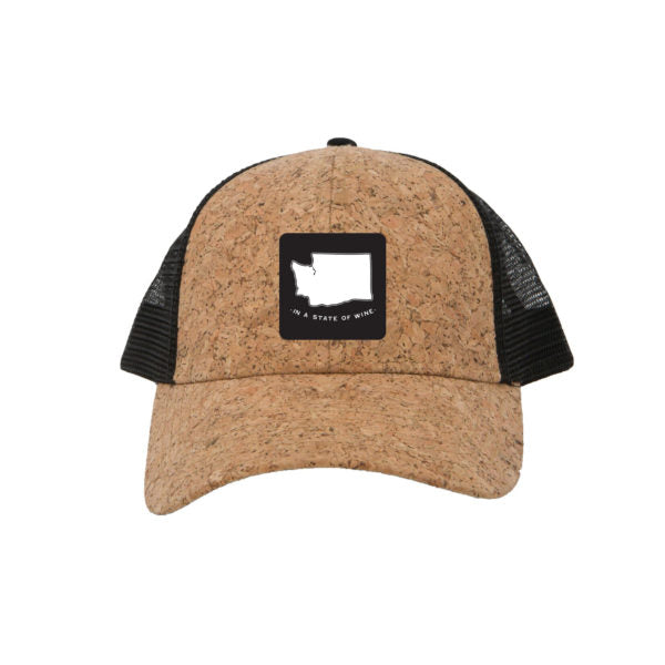 State of Wine WA Cork Trucker Cap