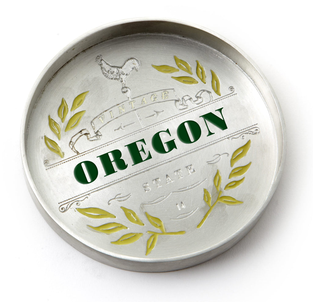 Vintage Oregon Bottle Coaster