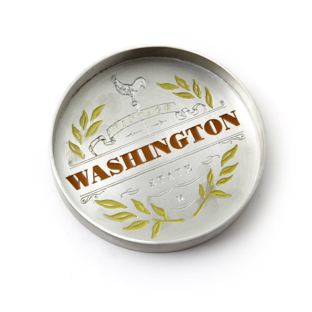 Vintage Washington Bottle Coaster