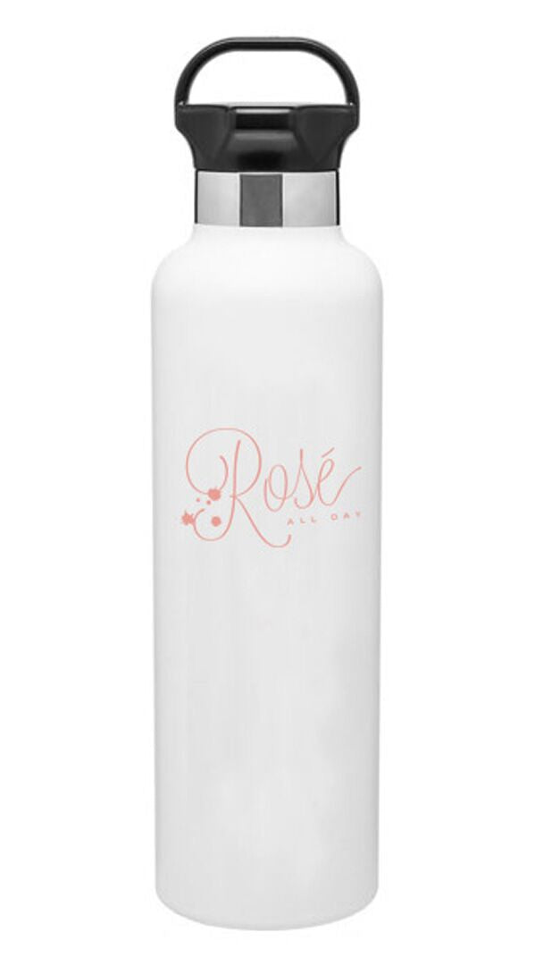 Rosé All Day Stainless Steel Water Bottle