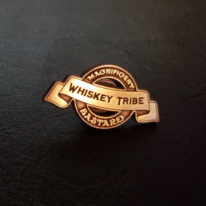 Whiskey Tribe Lapel Pin - GOLD