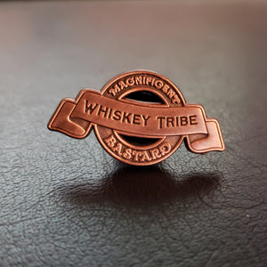 Whiskey Tribe Lapel Pin - COPPER