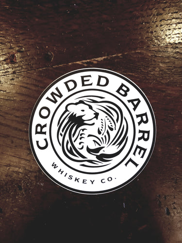 Crowded Barrel Sticker 3