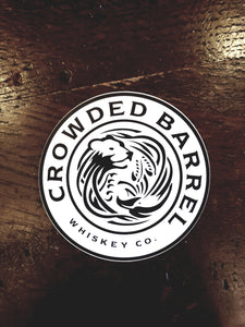 Crowded Barrel Bumper Sticker 4""