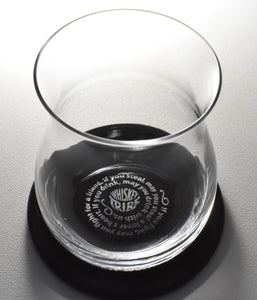 Tribe's Toast Glencairn Rocks Glass