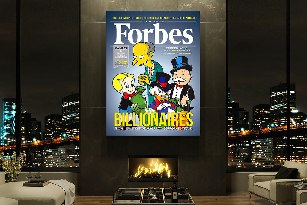 Canvas Wall Art Features Your Forbes Magazine Cover Story