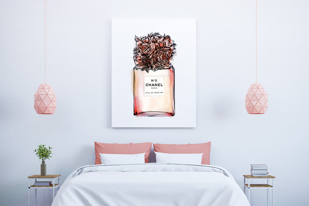 Pretty (Powerful) in Pink with Inspirational Art Prints