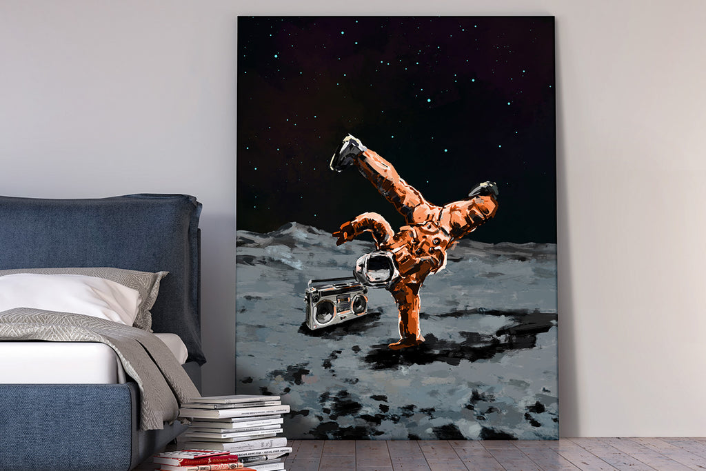 Canvas Wall Art Will Fly You to The Moon – Your Way