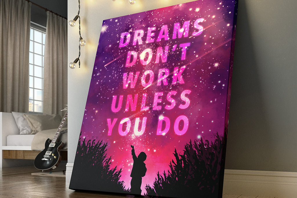 Inspirational Canvas Art Has Kids Reaching for the Stars