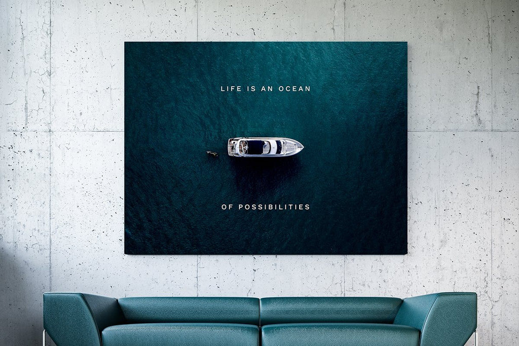 Inspirational Wall Art - The Power of Words