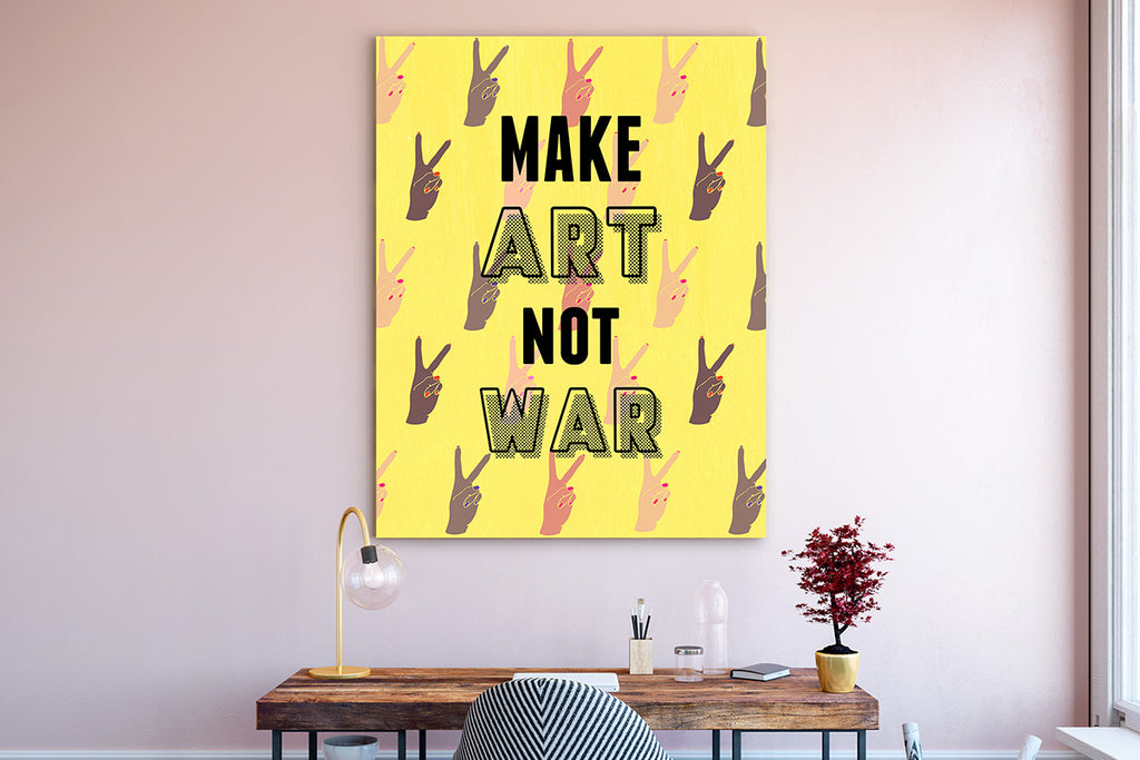 Canvas Art Prints - Calling YOU the Real Work of Art