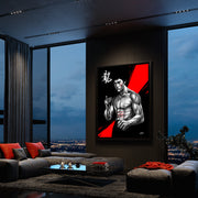 bruce lee the dragon art in condo