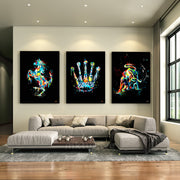 canvas art of luxury dream trilogy