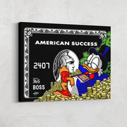 inktuitive american success scrooge mcduck canas art of amex black card