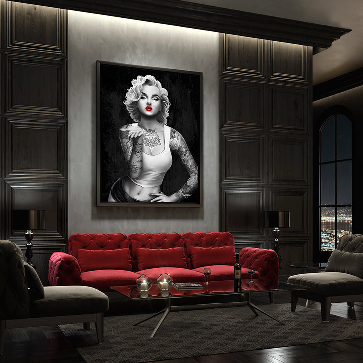 Marilyn Monroe modern wall art
