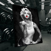 Marilyn Monroe painting modern wall art