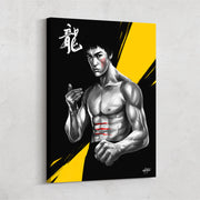 martial arts wall art