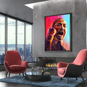 Martin Luther King wall art for living room