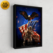 patriot military art framed