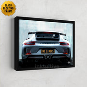 "Porsche ""No Limits"" wall art"
