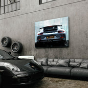 Porsche wall art of 911 Turbo GT3 for garage