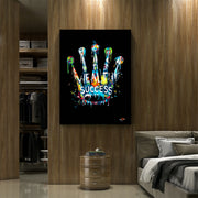 rolex watch crown in luxury modern wall art