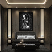 Seductive modern wall art for the bedroom