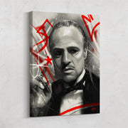 The Don: Wall Art of Marlon Brando in the Godfather
