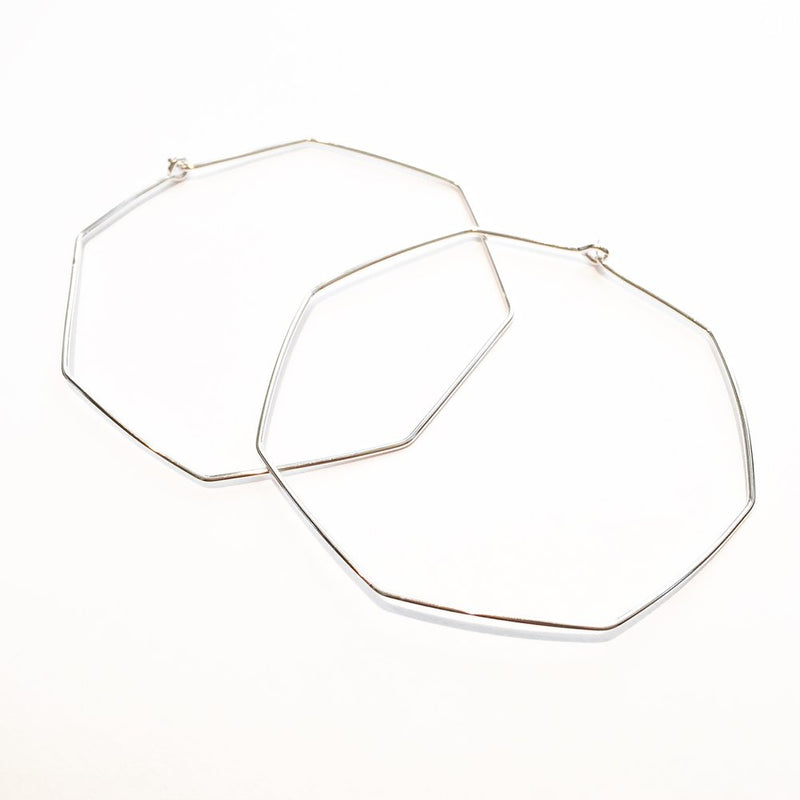Nash octagon hoops sterling silver agapantha jewelry.JPG
