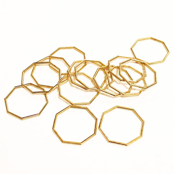 Nash Octagon Ring Agapatha Jewelry eco brass.jpeg
