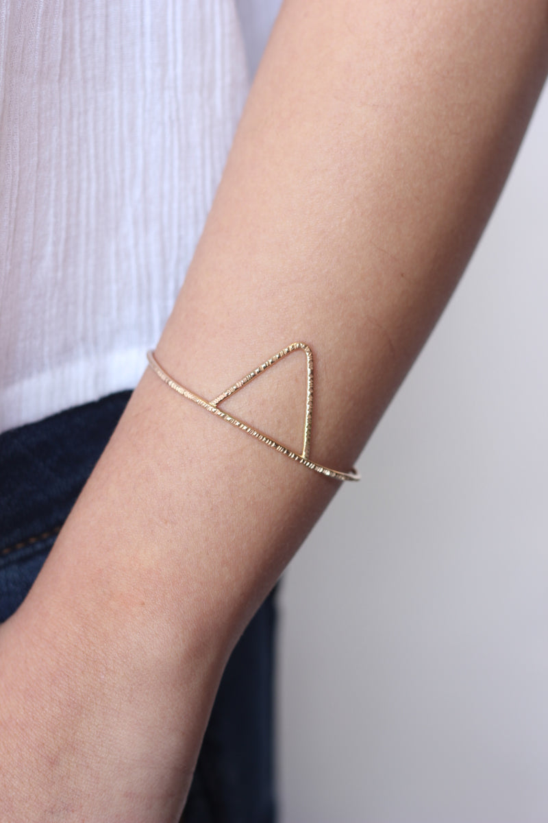 Jessa triangle cuff model T&W agapantha jewelry.jpg