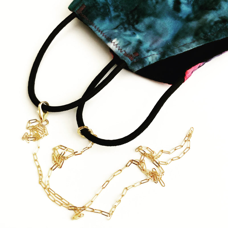 Ariana Convertible Mask Chain -ws