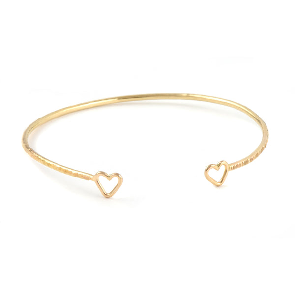 Junibel Sweetheart Cuff Bracelet
