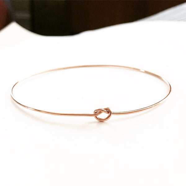 Shelby Love Knot Bangle