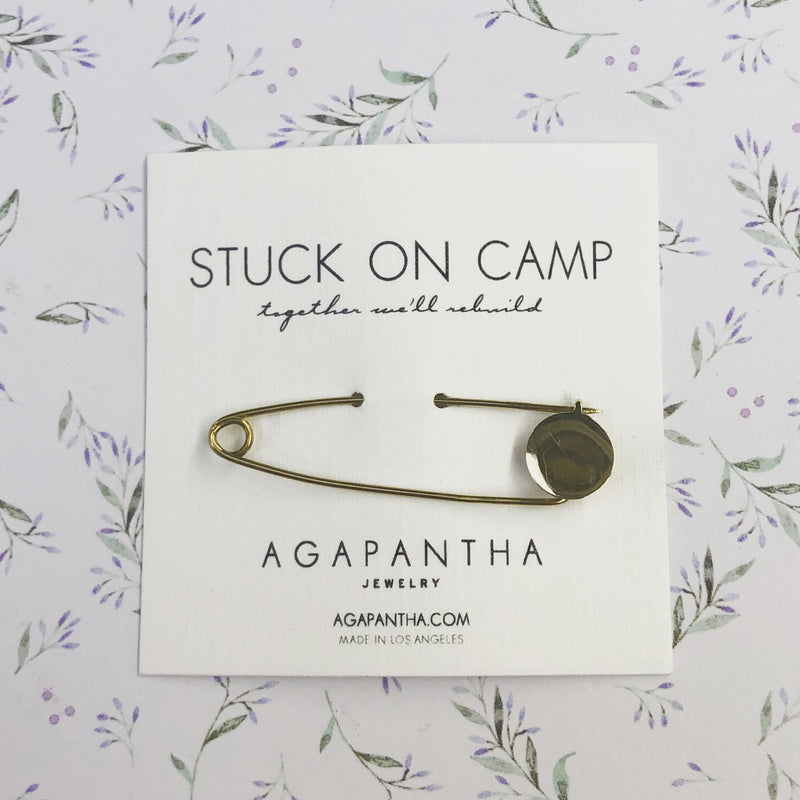 Stuck on Camp - Smooth Operator Safety Pin
