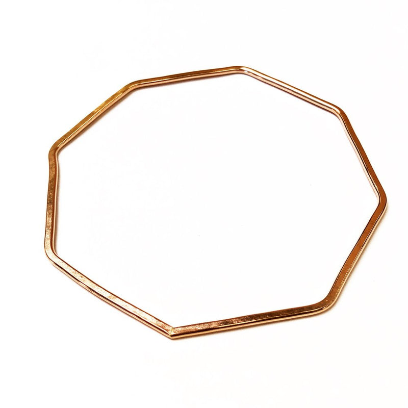 Nash Octagon Bangle 14k rose gold fill agapantha jewelry.JPG