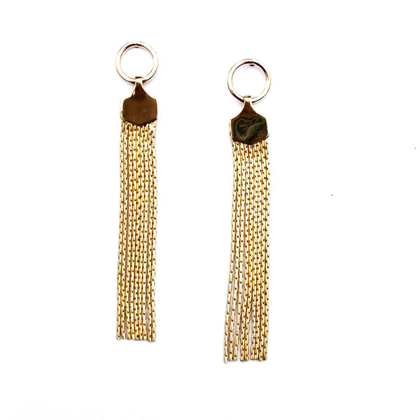 Ashley Tassel Studs