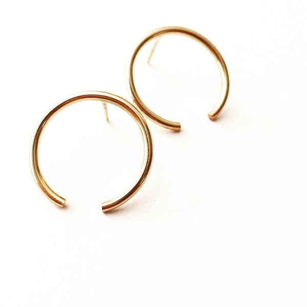 Bethany open circle studs agapantha jewelry 14k goldfill.JPG