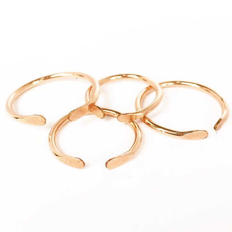 Alice rings 14k rose gold fill agapantha jewelry.JPG