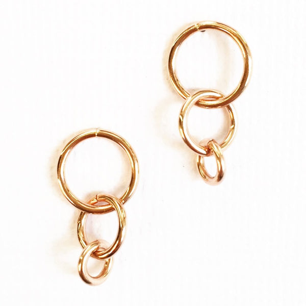 Alexis graduated circle studs 14k rose gold fill agapantha jewelry.JPG