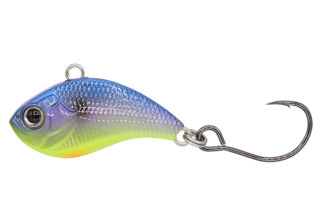"NEW Eurotackle Z-Viber 1//8oz 1.6/"" Micro Lipless Crankbait Tungsten bb/'s Chartreu"