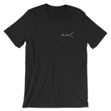 Jumping Marlin 2 Sided Dark Colored Short-Sleeve Unisex T-Shirt